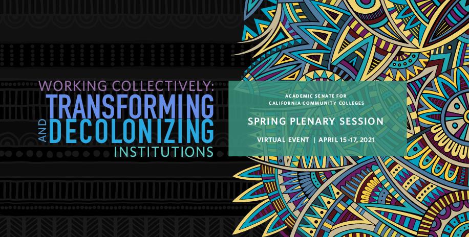2021 Spring Plenary image